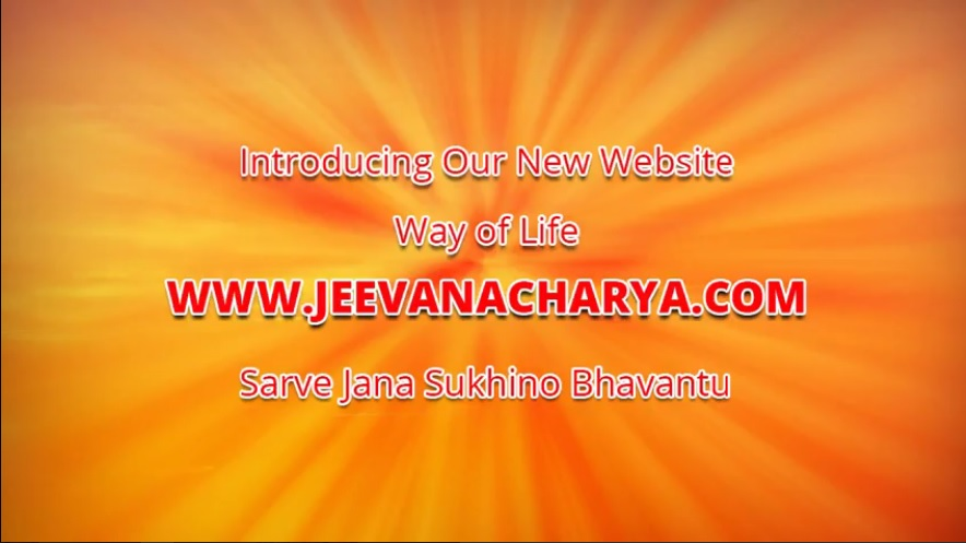 Jeevanacharya New Website Launch