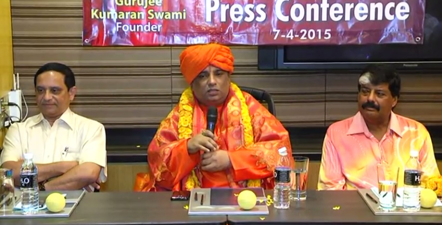 Jeevanacharya World Peace & Adhyatma Jyotish Trust Press Conference Malaysia