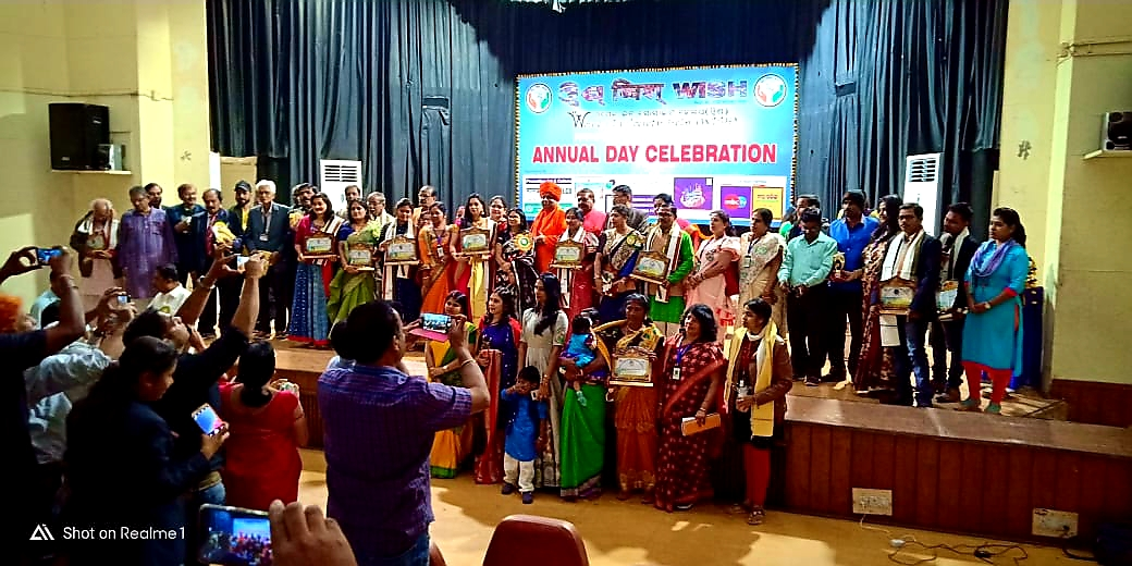 Jeevanacharya in Women in society Help Annual Day Celebration
