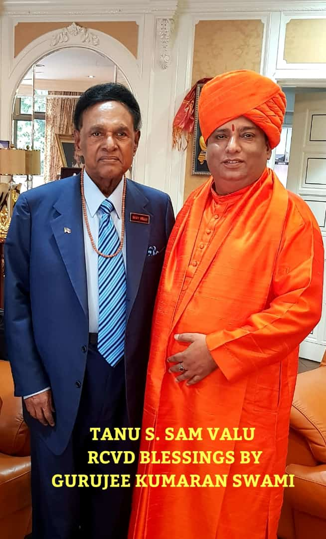 Jeevanacharya with Mr. Tun S.Samy Vellu