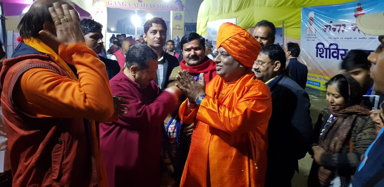 Jeevanacharya in Kumbh Mela