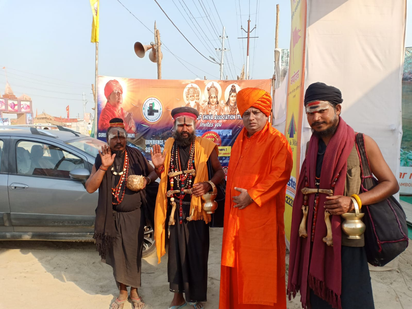 Jeevanacharya at Kumbh Prayagraj Shivir
